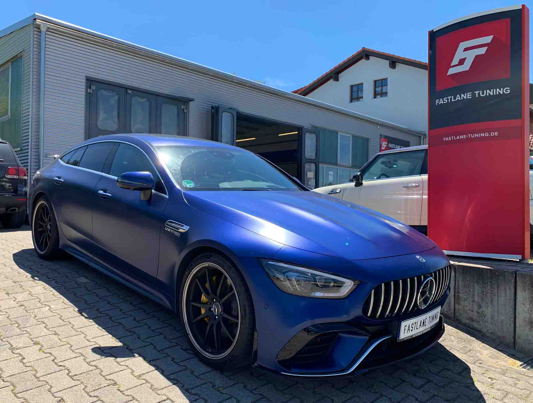 Mercedes AMG GT 63 S Chiptuning